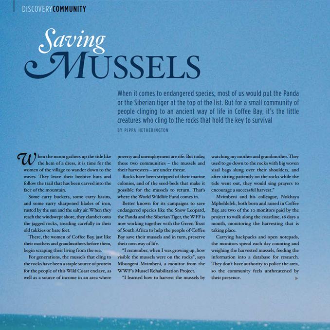 Saving Mussels