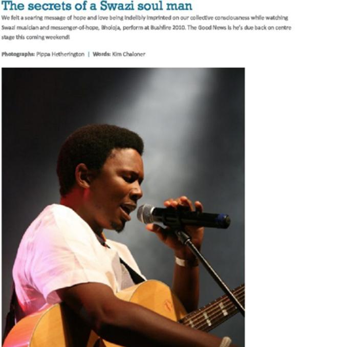 The Secrets of a Swazi Soul Man